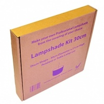 Lampshade Making Kit, 30cm drum