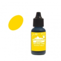 Sunshine Yellow Tim Holtz Adirondack Alcohol Ink, 15ml