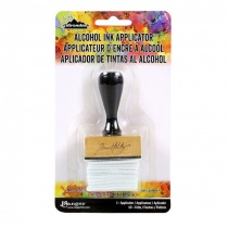 Alcohol ink felt applicator tool