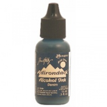 Denim Adirondack Alcohol Ink, 15ml, by Tim Holtz
