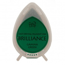Gamma Green Brilliance Dew Drop Ink Pad