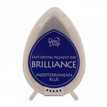 Mediterranean Blue Brilliance Dew Drop Ink Pad