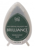 Pearlescent Ivy Brilliance Dew Drop Ink Pad
