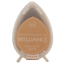 Pearlescent Beige Brilliance Dew Drop Ink Pad