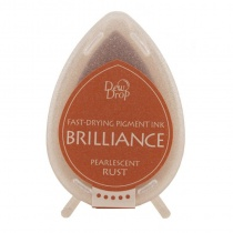 Pearlescent Rust Brilliance Dew Drop Ink Pad