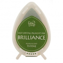 Pearlescent Thyme Brilliance Dew Drop Ink Pad