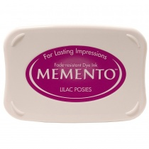 Lilac Posies Memento Ink Pads, Standard Size