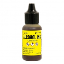 Dandelion Adirondack Alcohol Ink, 15ml, by Tim Holtz