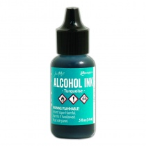 Turquoise Adirondack Alcohol Ink, 15ml by Tim Holtz