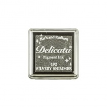 Delicata Small Ink Pad - Silvery Shimmer