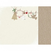 Laurel (Home for Christmas) 12x12 Scrapbook Paper