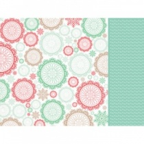 Gleeful 12 x 12 Scrapbook Paper by Kaiser Craft