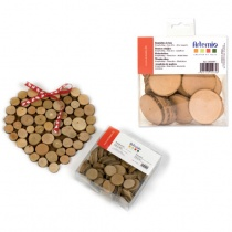 Wooden Discs / Slices 180g - up to 5cm