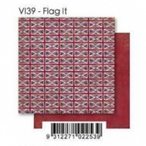 Flag It 12 inch Double-Sided Cardstock