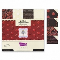 Jenni Bowlin Studio Collection: Assorted Red & Black, 12x12 inch pad