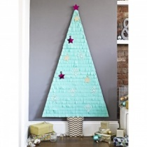 Giant Fringe Wall Christmas Tree Kit