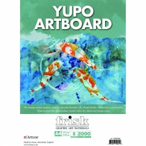 Yupo artboard A4 sheets, pack of 8