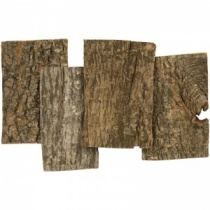 Tree Bark Plates, Approx 28 Pieces