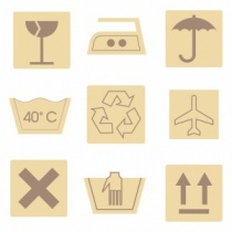 Wooden Shape Set, Utility Icons (27 pieces)