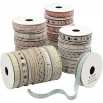 Natural Decorative Ribbon, 1.8 metres