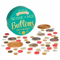 'Pick & Mix' Mixed Buttons (50) by The Makery