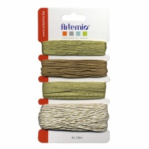 Assortment of Gold Threads, 40 metres in total