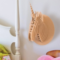 DIY Décor Cardboard Unicorn Head Kit