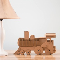 DIY Décor Cardboard Model Train Kit