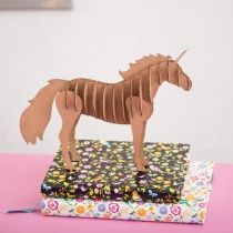 DIY Décor Mini Cardboard Unicorn Kit