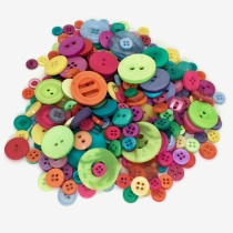 Mixed Bag of Bright Buttons