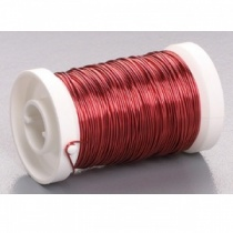 Red Wire 0.25mm x 50m