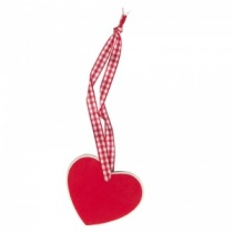 Pack of 2 Heart Shaped Wooden tags
