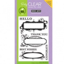 Congrats Clear Stamp
