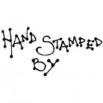 Hand Stamped By Wood Mounted Stamp
