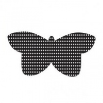 Dotty butterfly Mini Cling Stamp