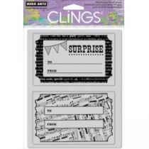 Surprise 2 Cling Stamp by Hero Arts (CG428)