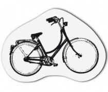 Clear Stamp Small Bicycle