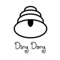 Ding Dong Bell Tinchie Clear Stamp