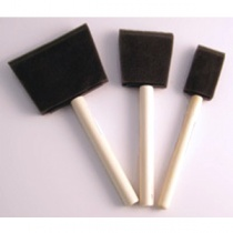 Sponge Applicator brushes (pack of 3)